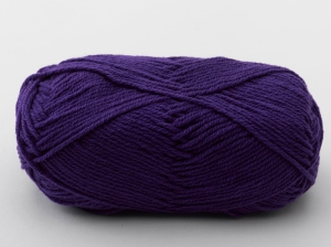 Kool Kotton Knitting Yarn (Purple KK13)