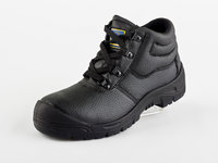 Chukka king work safety boots steel toe cap